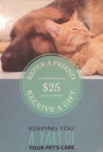 Refer a Friend Receive a Gift!